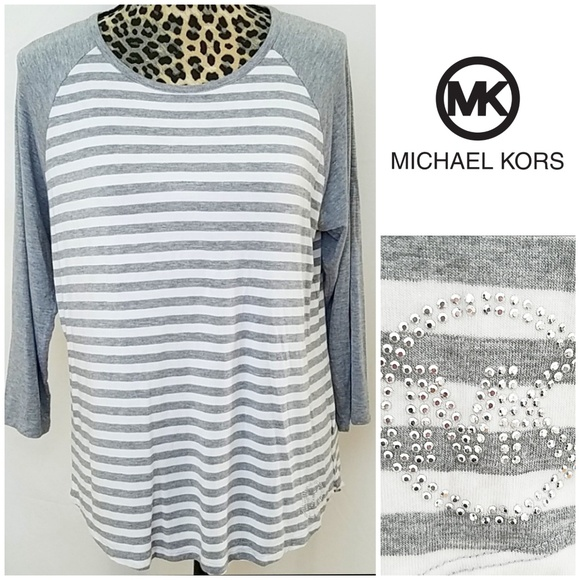 Michael Kors Tops - Michael Kors Striped Tunic